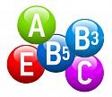 Витамины A, B3, B5, C, E