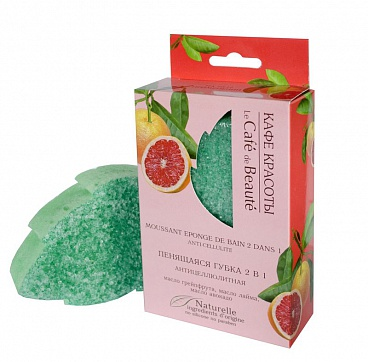 LEAF SHAPED  FOAMING SPONGE  ANTI-CELLULITE